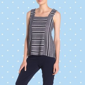 NWT Vince Camuto Square Neck Swing Sweater Tank XL